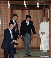 Nga phản ứng việc Thủ tướng Nhật viếng đền Yasukuni