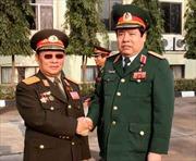 Đoàn đại biểu cấp cao Bộ Quốc phòng Việt Nam thăm Lào