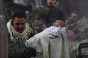 Những nạn nhân bé nhỏ trong nội chiến Syria