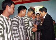 Hà Nội: Giảm án, tha tù cho 230 phạm nhân