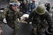Ukraine: Người biểu tình đấu súng, Quốc hội loạn đả