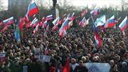 Hàng nghìn người Ukraine tuần hành phản đối chính biến