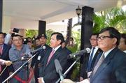 Hai chính đảng Campuchia hoãn gặp ngày 27/2