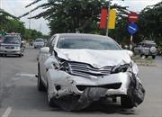 Bắt khẩn cấp đối tượng chém người và tông ô tô chết người