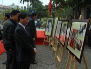 Gắn biển tên phố Trần Kim Xuyến, liệt sĩ nhà báo TTXVN