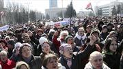 10.000 người ủng hộ Nga biểu tình tại Donetsk