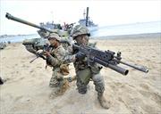 Hàn - Mỹ tập trận lính thuỷ đánh bộ lớn kỷ lục