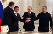 Thượng viện Nga thông qua Hiệp ước sáp nhập Crimea