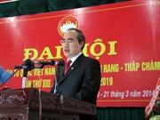 Đồng chí Nguyễn Thiện Nhân làm việc tại Ninh Thuận