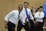 Giới chính trị gia và 'ngoại giao bóng bàn'