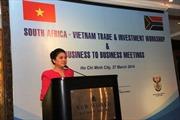 Tăng cường xúc tiến thương mại và đầu tư Việt Nam- Nam Phi