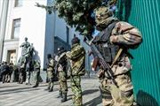 Quốc hội Ukraine nhất trí giải giáp các nhóm tự vệ