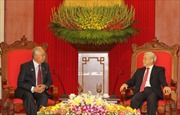 Tổng Bí thư Nguyễn Phú Trọng tiếp Thủ tướng Malaysia