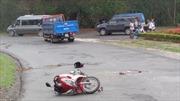 Xe tải đi vào đường cấm, gây tai nạn chết người