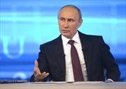Tổng thống Putin: Khủng hoảng Ucraine không do Nga và Mỹ quyết định