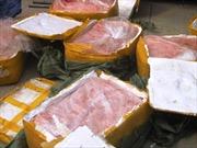 Thu giữ 1 tấn nội tạng động vật đang phân hủy