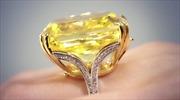 Kỷ lục mới cho kim cương vàng Graff Vivid Yellow
