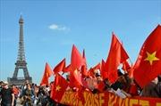 Biểu tình ở Pháp phản đối hành động sai trái của Trung Quốc