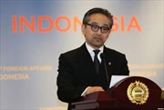 Indonesia cam kết tham gia tìm biện pháp giải quyết tình hình căng thẳng Biển Đông