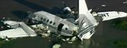 Máy bay rơi xuống sông, 5 người thiệt mạng