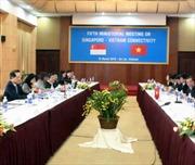 Singapore đánh giá cao quan hệ hợp tác với Việt Nam