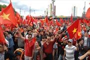 Người Việt tại Đức tuần hành rầm rộ phản đối Trung Quốc
