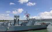 Đội tàu chiến Trung Quốc tới Trân Châu Cảng tập trận