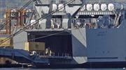 Mỹ bắt đầu vô hiệu hóa vũ khí hóa học của Syria