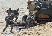 Triều Tiên dọa trả đũa, Mỹ-Hàn vẫn tập trận chung