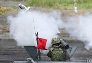 Nhật Bản tập trận đạn thật dưới chân núi Phú Sĩ