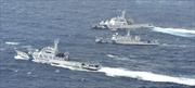 4 tàu Trung Quốc xâm nhập Senkaku/Điếu Ngư