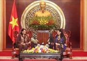Phó Chủ tịch QH Tòng Thị Phóng tiếp Phó Chủ tịch HĐ Nhà nước Cuba