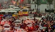 Nội thành Hà Nội bị ô nhiễm bụi mức độ cao