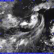 Bão Fung-Wong di chuyển theo hướng Bắc, biển động mạnh