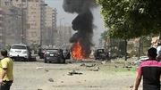 Nổ bom gần Bộ Ngoại giao Ai Cập