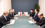 Thủ tướng gặp các nhà Lãnh đạo bên lề ASEM 10