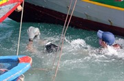 Quảng Ngãi: Ngăn chặn ngư dân trộm cổ vật từ tàu đắm