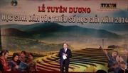 Lễ tuyên dương học sinh giỏi dân tộc thiểu số 2014