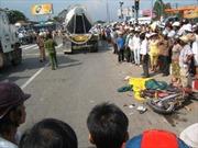 Ô tô trộn bê tông gây tai nạn chết người