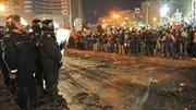 Romania biểu tình phản đối bầu cử tổng thống