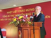 Tổng Bí thư tiếp Chủ tịch Đảng Cộng sản Nga