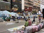 Người biểu tình Hong Kong ở Causeway Bay có kế hoạch tiếp theo
