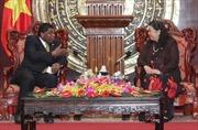 Phó Chủ tịch Quốc hội Tòng Thị Phóng tiếp Tổng Thư ký IPU