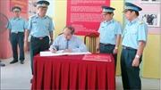 Đồng chí Nguyễn Thiện Nhân thăm Trường Sĩ quan Không quân