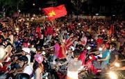 Tăng cường CSGT trong trận bán kết Việt Nam-Malaysia
