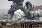 Mỹ triển khai hàng chục đợt không kích nhằm vào IS