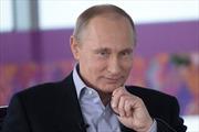Người Nga bầu ông Putin là 'Nhân vật của năm'