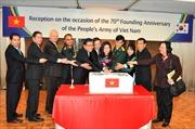 Kỷ niệm 70 năm thành lập QĐND Việt Nam ở Hàn Quốc