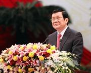 Báo Campuchia phỏng vấn Chủ tịch nước Trương Tấn Sang