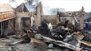 Chùm ảnh vụ cháy chợ Ba Đồn,  Quảng Bình